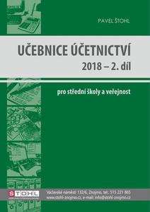 Obrázok Učebnice Účetnictví 2018 - 2. díl