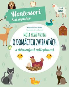 Obrázok Moja prvá kniha o domácich zvieratách