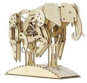 Obrázok 3D puzzle Slon 159 dílků
