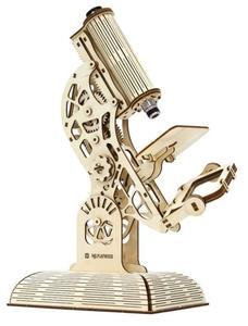 Obrázok 3D puzzle Mikroskop 104 dílků