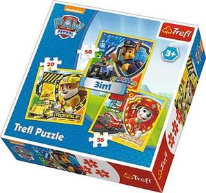 Obrázok Puzzle Tlapková patrola Marshall, Rubble a Chase