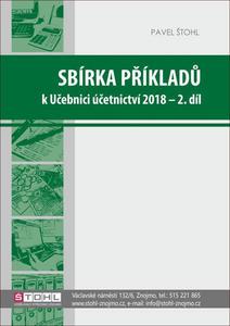Obrázok Sbírka příkladů k Učebnici účetnictví 2018 - 2. díl