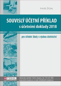 Obrázok Souvislý účetní příklad s účetními doklady 2018