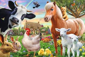 Obrázok Puzzle Veselá farma