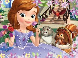 Obrázok Puzzle Princezna Sofie První Voňavé růže