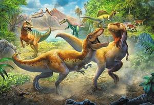 Obrázok Puzzle Dinosauří souboj