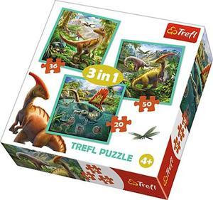 Obrázok Puzzle Neobyčejný svět dinosaurů