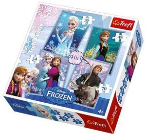 Obrázok Puzzle Ledové království