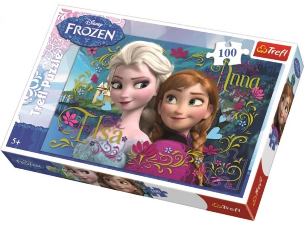 Puzzle Ledové království Anna a Elsa