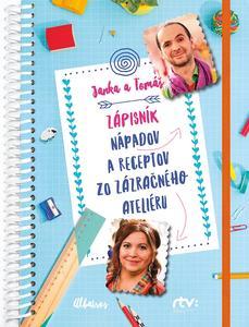 Obrázok Janka a Tomáš Zápisník nápadov a receptov zo Zázračného ateliéru