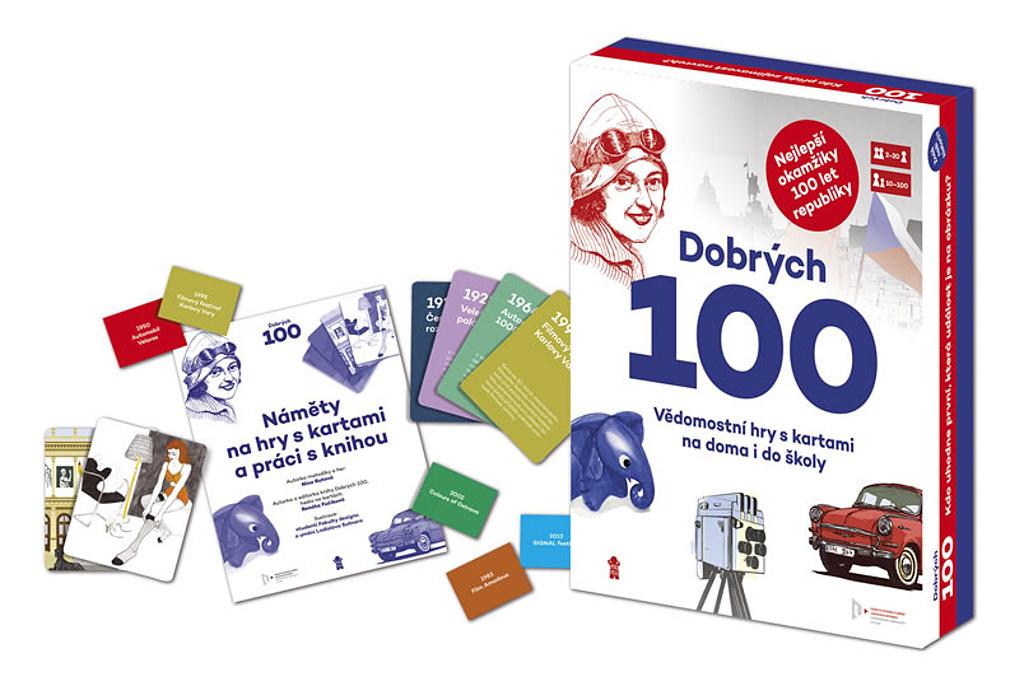 Dobrých 100 vědomostní hry s kartami - Nina Rutová