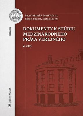 Obrázok Dokumenty k štúdiu medzinárodného práva verejného