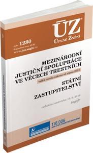 Obrázok ÚZ 1280 Mezinárodní justiční spolupráce ve věcech trestních