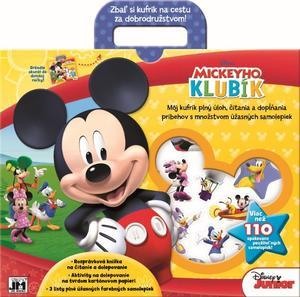 Obrázok Zábavný kufrík Mickeyho klubík