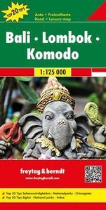 Obrázok Bali-Lombok-Komodo 1:125 000