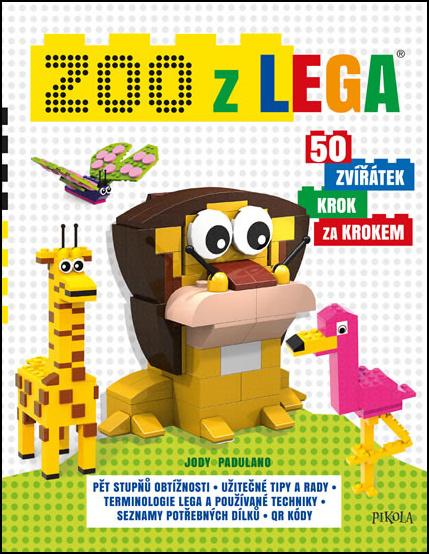 Zoo z lega 50 zvířátek krok za krokem - Jody Padulano