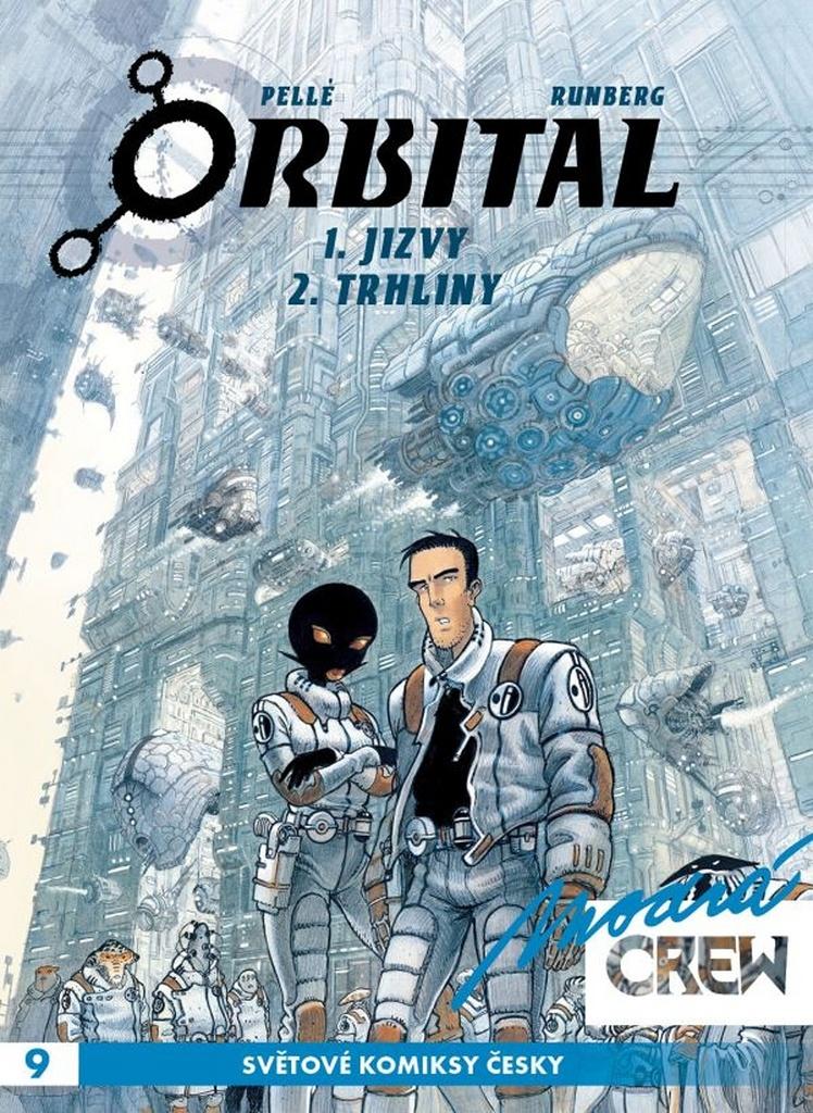 Modrá CREW 9 Orbital 1+2 - Sylvain Runberg