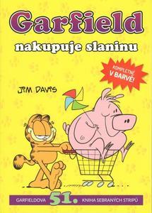 Obrázok Garfield nakupuje slaninu