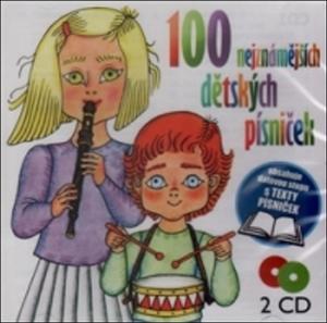 Obrázok 100 nejznámějších dětských písniček 2 CD