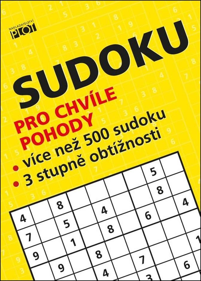 PLOT Sudoku pro chvíle pohody - Petr Sýkora