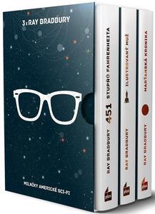 Obrázok 3x Ray Bradbury BOX (Milníky americké sci-fi)
