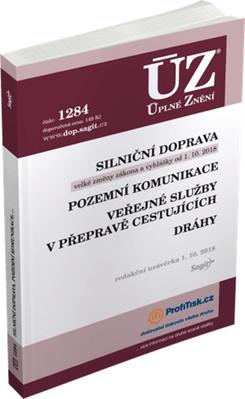 ÚZ 1284 Silniční doprava, pozemní komunikace, veřejné služby v přepravě