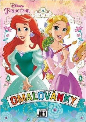 Omalovánky A5+ Disney Princezny