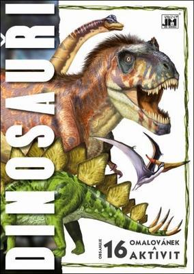 Obrázok Omalovánky A4 Dinosauři