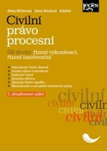 Obrázok Civilní právo procesní část druhá Řízení vykonávací, řízení insolvenční