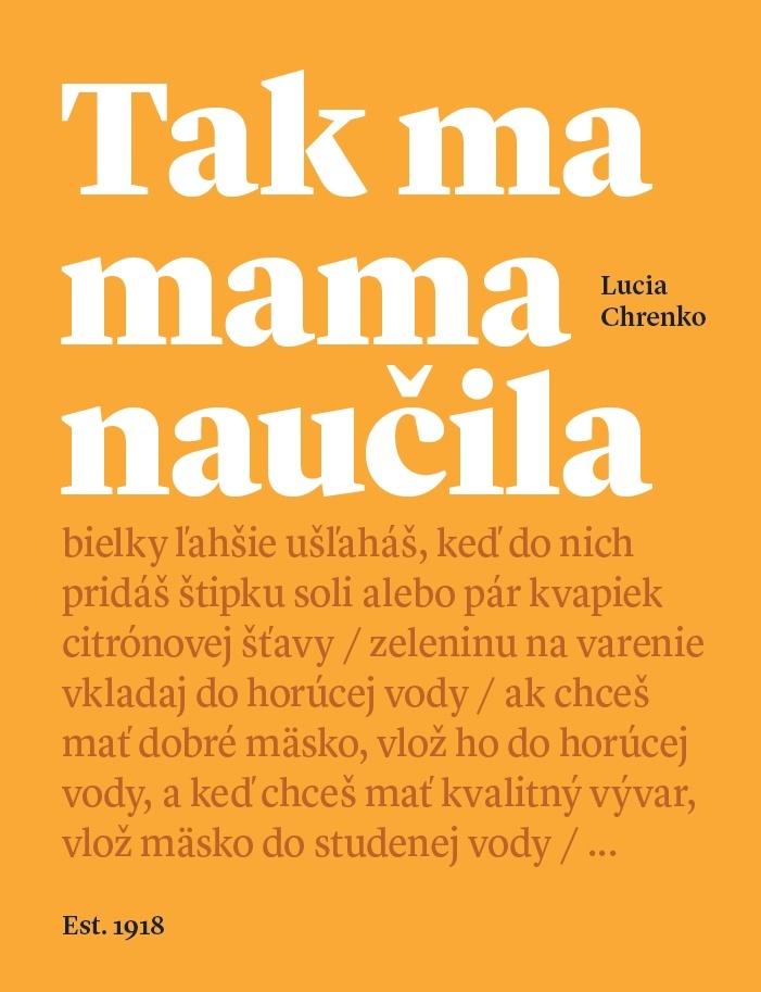 Tak ma mama naučila - Lucia Chrenko