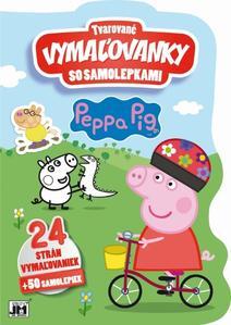 Obrázok Tvarované vymaľovanky so samolepkami Peppa Pig