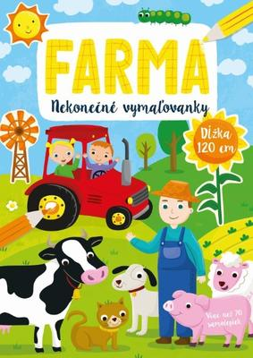 Nekonečné vymaľovanky Farma
