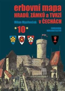 Obrázok Erbovní mapa hradů, zámků a tvrzí v Čechách 10