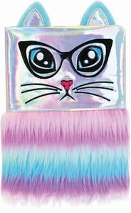Obrázok Plyšový deník Duhová kočka