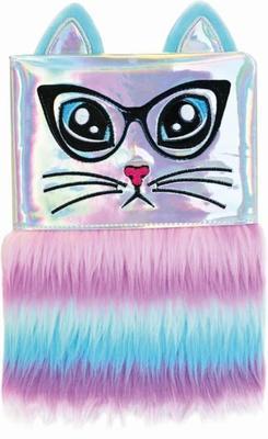 Plyšový deník Duhová kočka