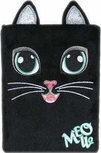 Obrázok Plyšový deník Černá kočka