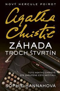 Obrázok Záhada troch štvrtín Agatha Christie