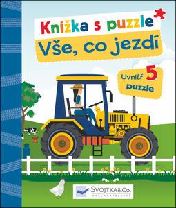 Obrázok Knížka s puzzle Vše, co jezdí
