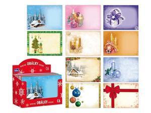 Obrázok Dopisní obálka MFP C6 vánoční (mix)