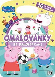 Obrázok Omalovánky se samolepkami Peppa Pig