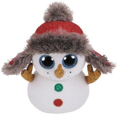 Beanie Boos Buttons sněhulák 24 cm