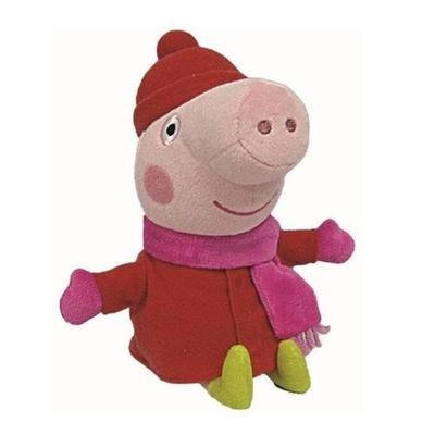 Beanie Babies Lic Peppa Pig Peppa winter