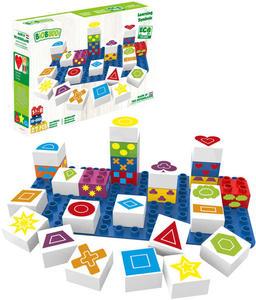 Obrázok BiOBUDDi stavebnice Learning Symbols Young Ones tvary
