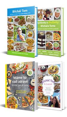Obrázok Balíček 4 knih Břicháče Toma