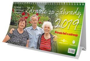 Obrázok Zdravie zo záhrady 2019 - stolový kalendár