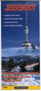 Obrázok Jeseníky 1:100 000 Zimní lyžařská mapa