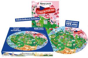 Obrázok Objevuj s puzzle Česká republika