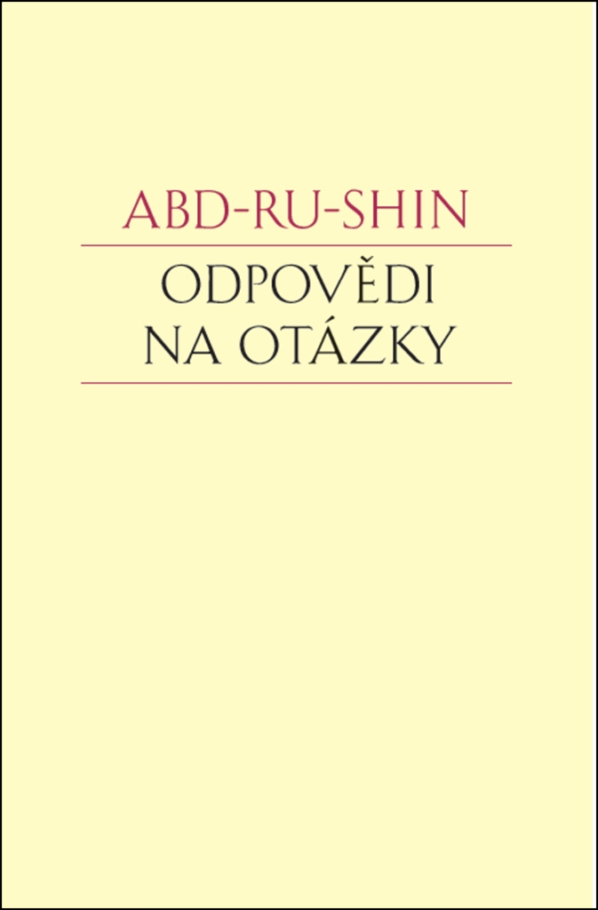 Odpovědi na otázky - Abd-ru-shin