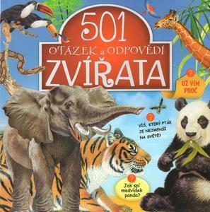 Obrázok 501 otázek a odpovědí Zvířata