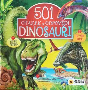 Obrázok 501 otázek a odpovědí Dinosauři